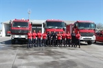 33 NEW FIRE FIGHTERS BEGAN THEIR CAREER  IN CIVIL AVIATION DEPARTMENT