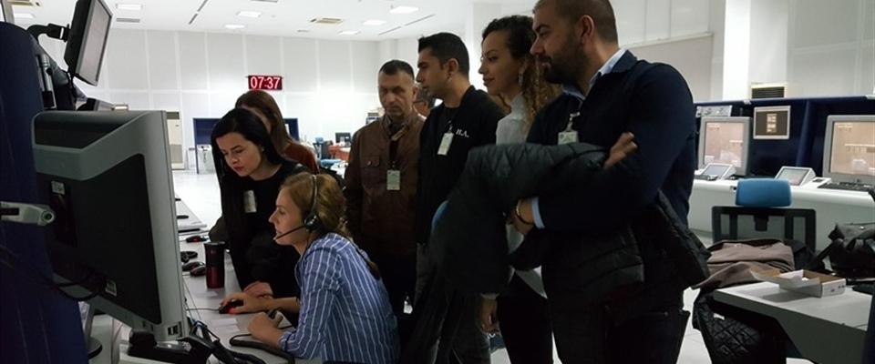 ERCAN AIR TRAFFIC CONTROL PERSONNEL HAD R-NAV APPROACH TRAINING IN ANTALYA